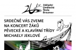 Úterý 19. 1. 2016: Interní koncert žáků pěvecké a klavírní třídy Michaely Jeklové