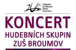 Středa 27. 1. 2016: Koncert hudebních skupin ZUŠ