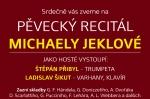 Čtvrtek 4. 2. 2016: Pěvecký recitál Michaely Jeklové