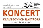 Pondělí 23. 5. 2016: Interní koncert klávesových nástrojů