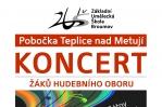 Úterý 14. 6. 2016: Koncert žáků hudebního oboru - pobočka Teplice n. Met.