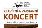Pondělí 20. 6. 2016: Klavírní a varhanní koncert
