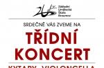 PONDĚLÍ 4. 12. 2017: ŽÁKOVSKÝ KONCERT - KYTARY, VIOLONCELLA