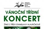 PONDĚLÍ 18. 12. 2017: PŘEDVÁNOČNÍ TŘÍDNÍ KONCERT - Vernéřovice