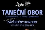 Závěrečný koncert tanečního oboru