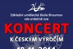 Koncert k českým výročím