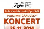 Podzimní žákovský koncert - pobočka ZUŠ v Meziměstí