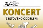 Koncert žesťového oddělení