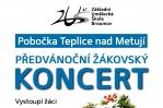 Předvánoční koncert pobočky ZUŠ v Teplicích n. M.