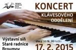 Koncert klávesového oddělení