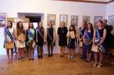 absolventky VO zleva: N.Slezáková, S.Macháčková, K.Koyšová, K.Meiwaldová, A.Miewaldová, M.Hrubá, E.Čejchanová, M.Martišková, M.Smejkalová
